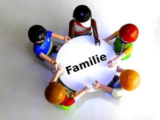 habitude famille à table