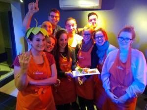 Teambuilding concours culinaire Carette Ottignies