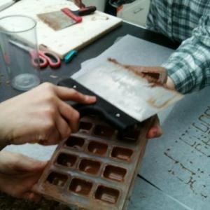 chocolat, chocolaterie, pralines