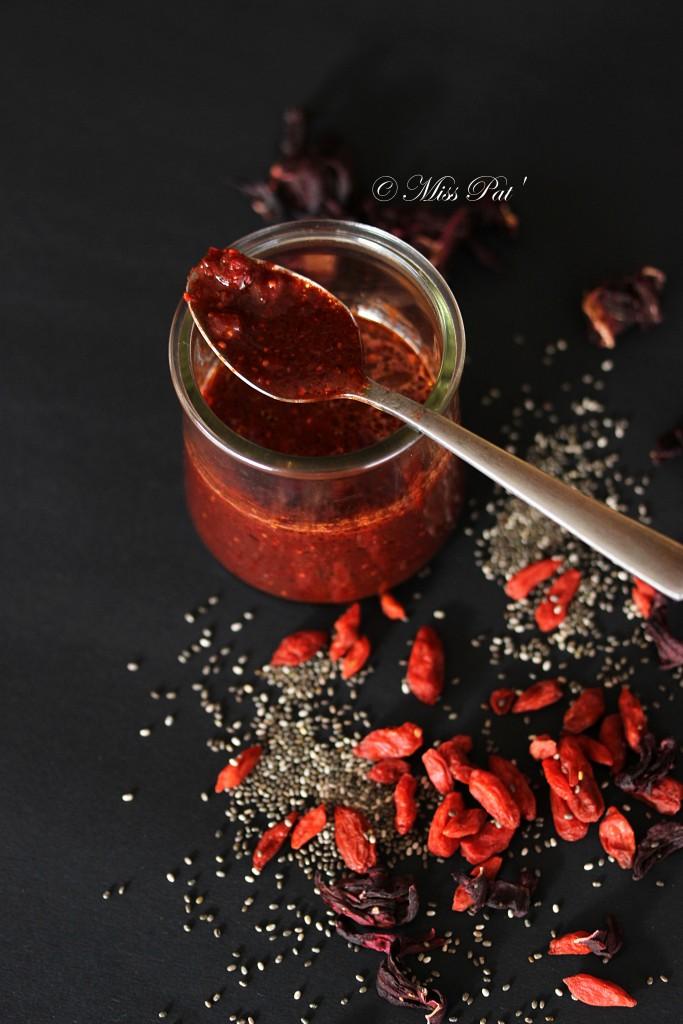 Sauce hibiscus et goji misspat
