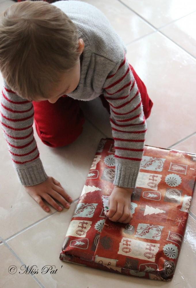 Déballer cadeau misspat