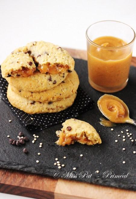 Cookies fourrés au beurre de cacahuètes misspat priméal