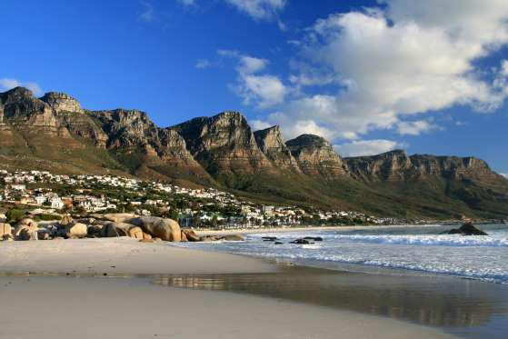 Pantai Camp's Bay, Afrika Selatan