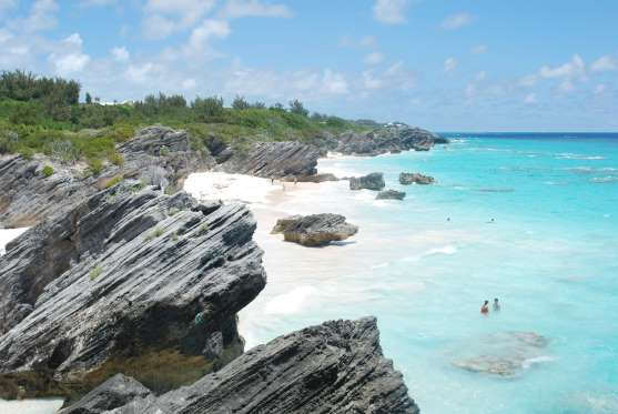 Pantai Horseshoe Bay, Southampton Parish, Bermuda