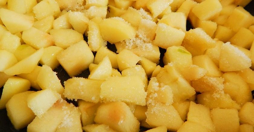 strudel de manzana masa filo canela