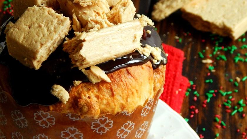 pan dulce mantecol pannetone