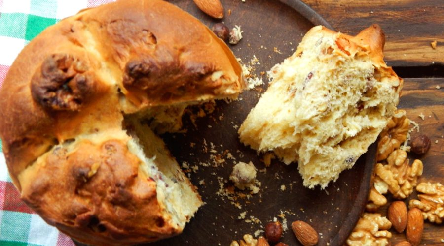 pan dulce navidad panettone