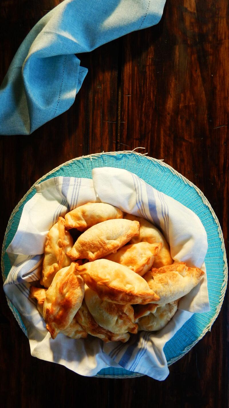 empanadas caseras panceta queso ciruela agridulce