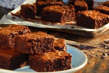 brownies de chocolate receta