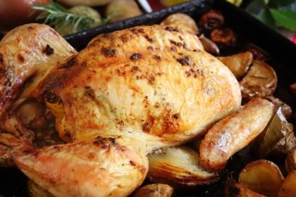 pollo al horno receta facil