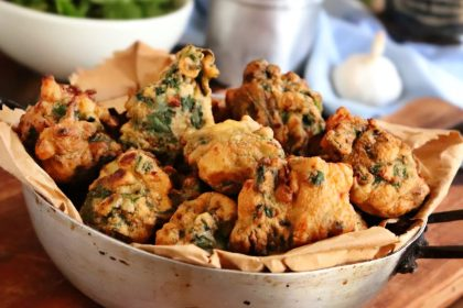buñuelos de acelga queso fritos