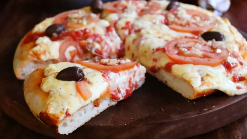 pizza al molde porteña media masa casera
