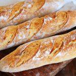 baguette casera pan frances dorado