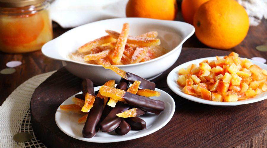 cascaritas naranjas confitadas chocolate