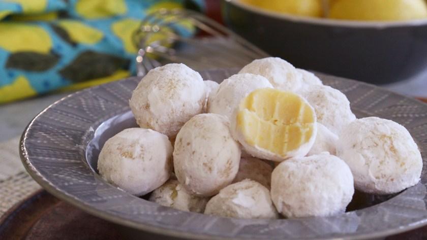 trufas de chocolate blanco limon faciles