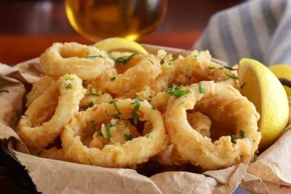 rabas fritas calamar coccion