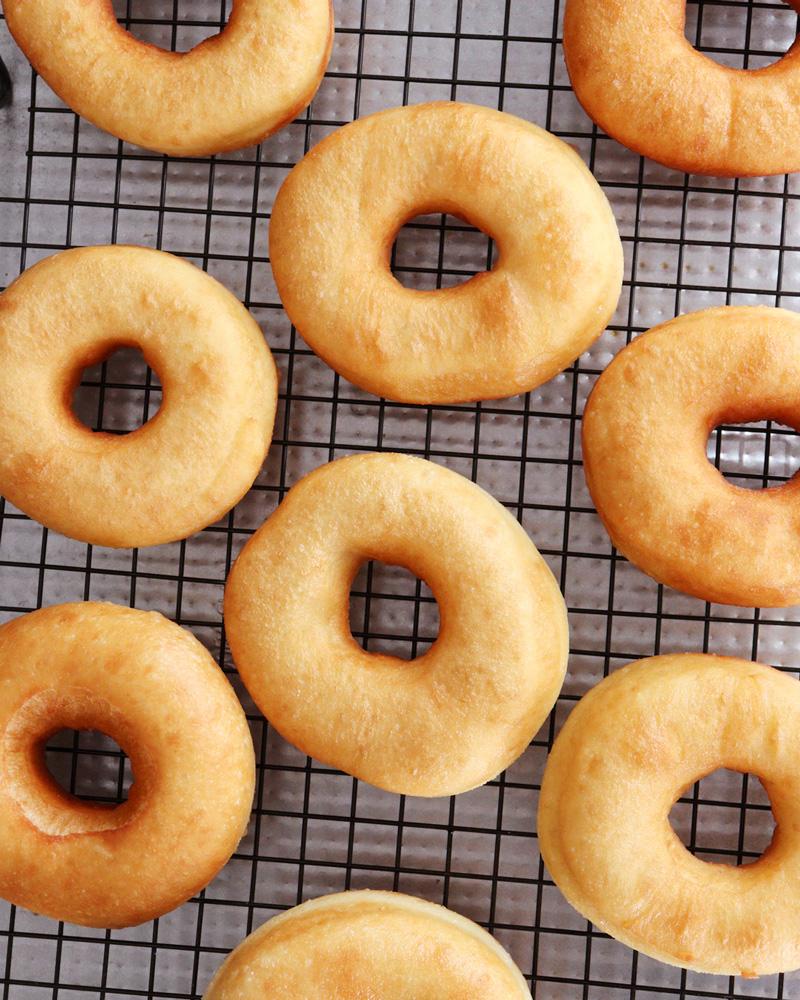 donas caseras donuts doughnut bites holes homero