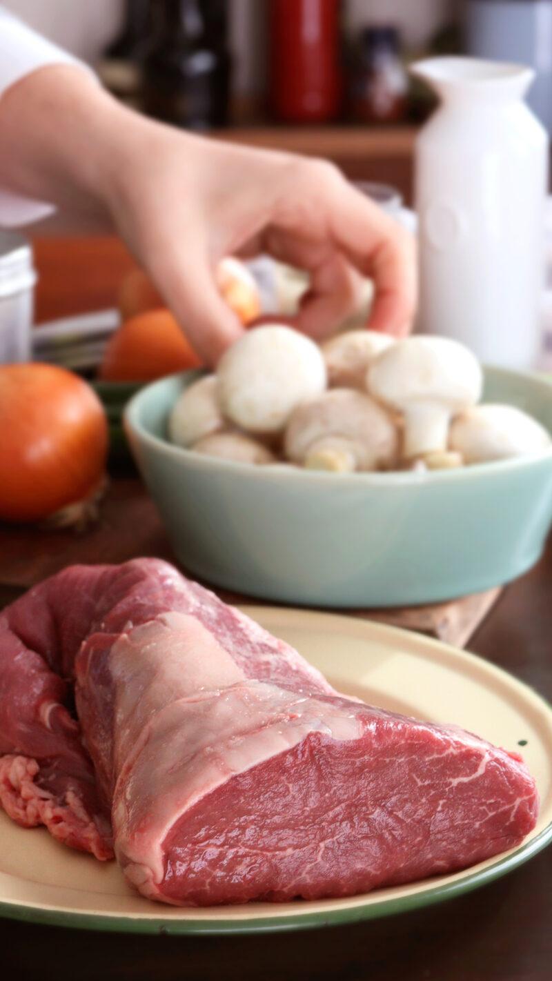 lomo al champignon solomillo ternera salsa crema