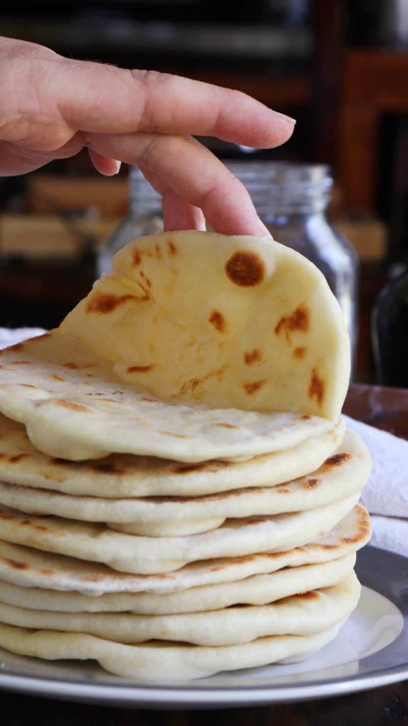 pan rapido facil sin horno pita arabe