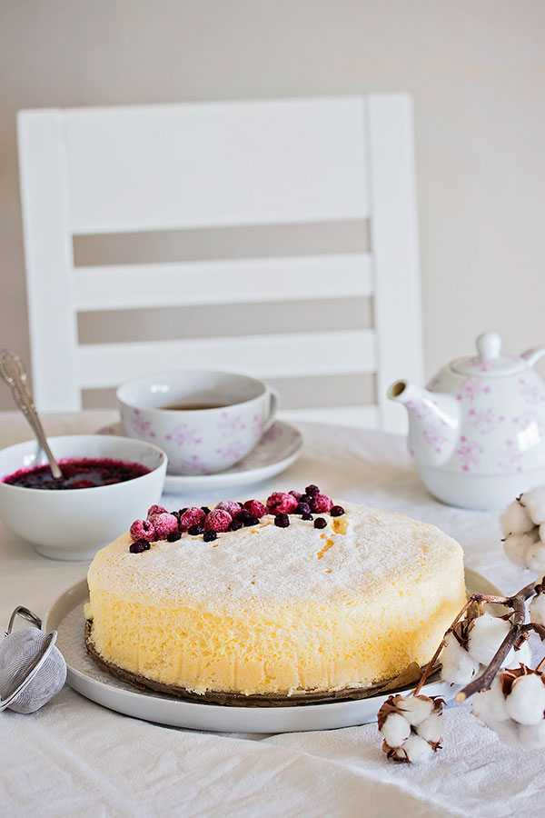 Japanska torta od sira