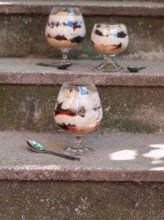 Krema od sira u čaši