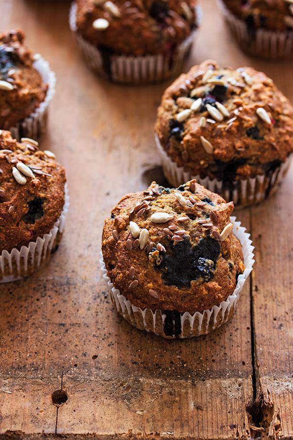 Muffini sa šumskim voćem
