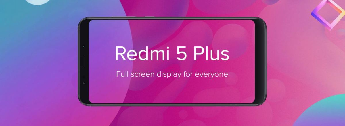 redmi 5 plus display