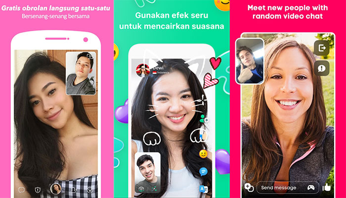 aplikasi video call random no banned gratis