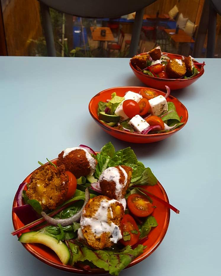 Falafels & Salads