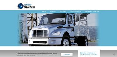 web camiones vence