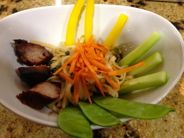 Recipe: Chinese Roast Pork Noodle Bowl
