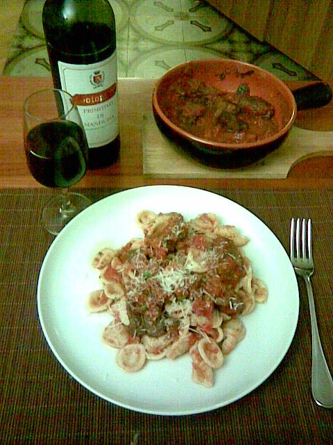 Braciole finished dish