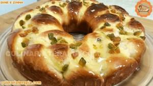 Rosca de pão doce super fofinho