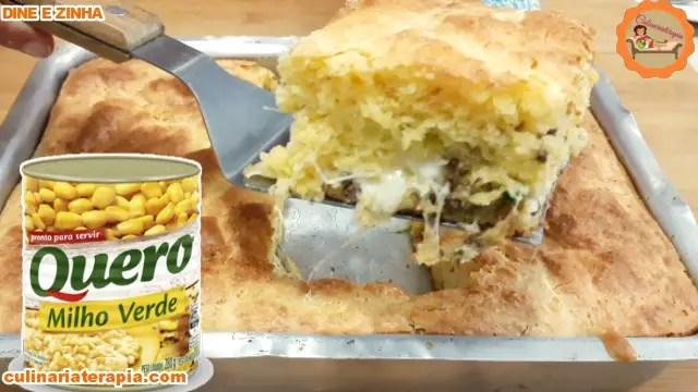 Pão de queijo de milho de latinha