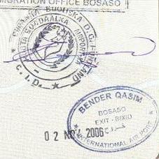 passport puntland visa