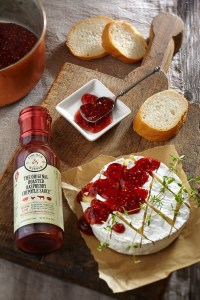 Roasted Raspberry Chipotle and Brie