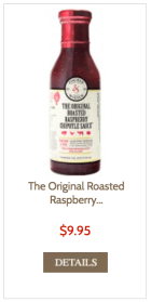 Roasted raspberry chipotle