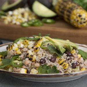 Texas Caviar with Quinoa