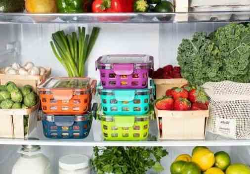 organise the fridge