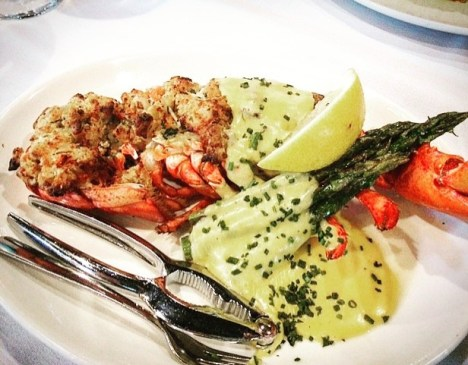 Lobster with Hollandaise
