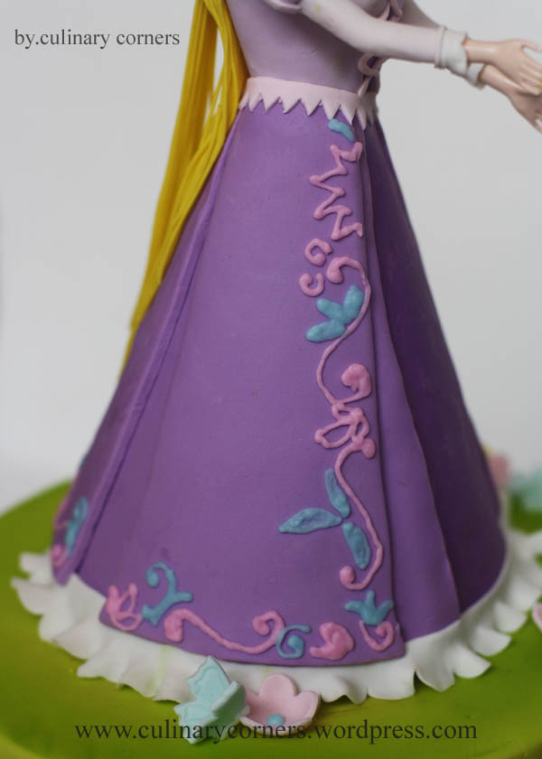 Kue Ulang Tahun Rapunzel Culinary Corners