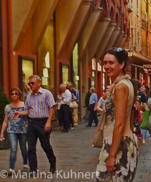 Food tour Bologna, Martina Kuhnert