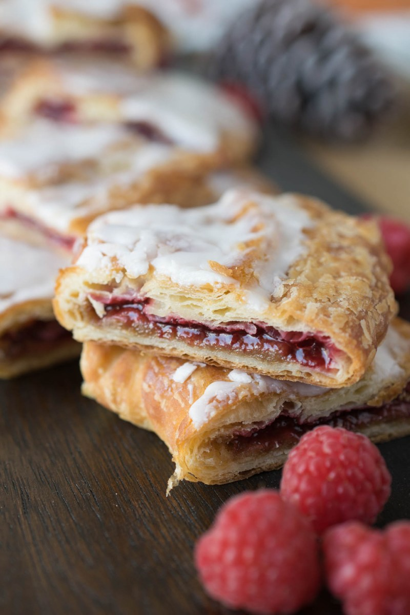 Racine Danish Kringles are flaky layers of pastry that are filled with one of many different irresistible fillings. They are then hand-shaped into an oval. The danishes are made fresh everyday and come delivered to your door ready to eat.