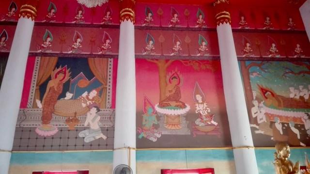 Wandmalereien_Buddhistischer_Tempel_wunderschön