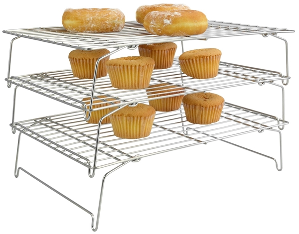 3 level cooling rack for baking