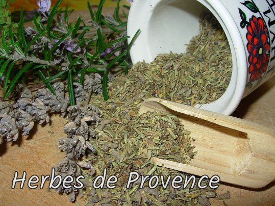 Herbs for herbes de Provence
