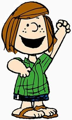 Peppermint Patty, Charlie Brown's Friend from Peanuts cartoon