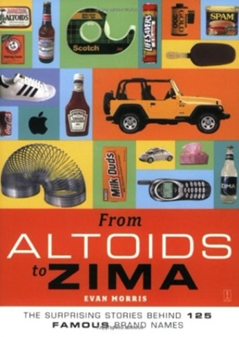 From Altoids to Zima: The Surprising Stories Behind 125 Famous Brand Names book cover image