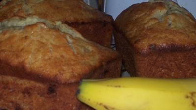 banana bread and banana