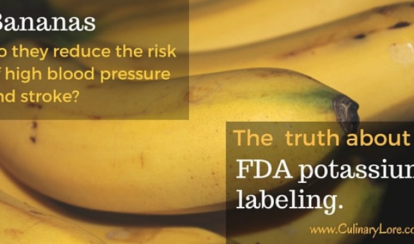 Did the FDA Really Allow the Banana Industry to Say that Bananas Reduce the Risk of High Blood Pressure and Stroke?